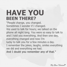 Sad Love Quotes - Have you been there