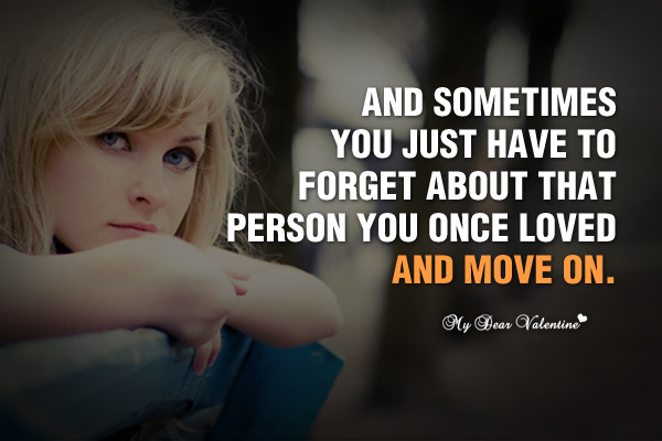 Sad Love Picture Quotes - And sometimes you just have to