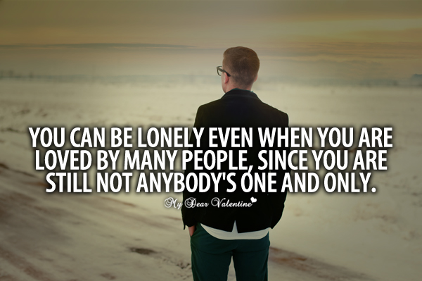 Lonely Love Quotes : Lonely Quotes About Loneliness Pictures to pin on Pinterest