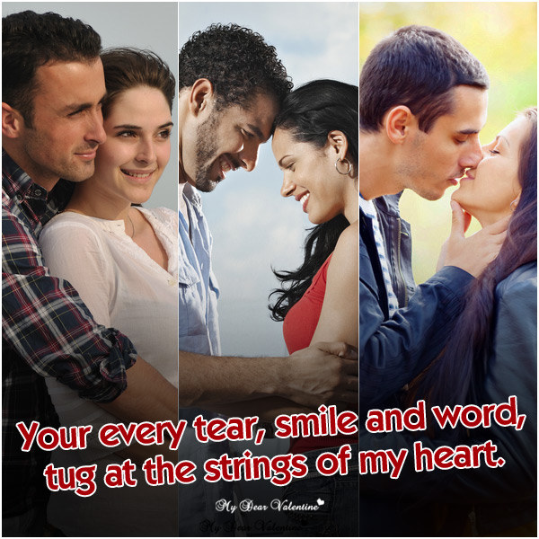 Sweet Love Picture Quotes - Your every tear smile