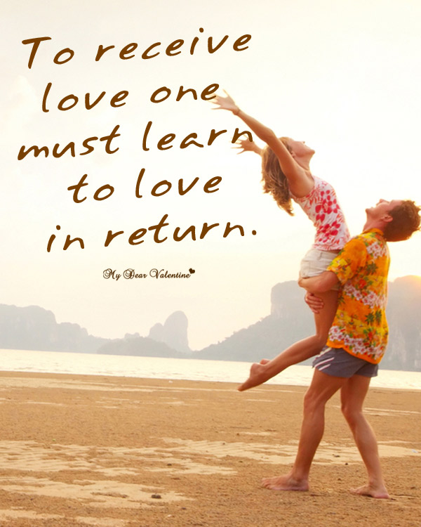 Sweet Love Picture Quotes - To receive love
