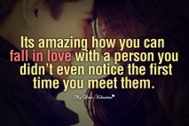 Cute Love Picture Quotes - It's amazing how you can fall in love