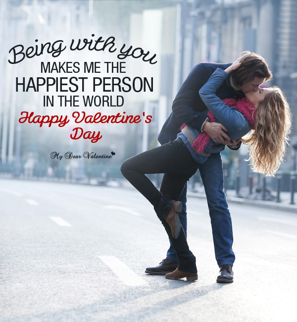Valentine Picture Quotes - Being with You