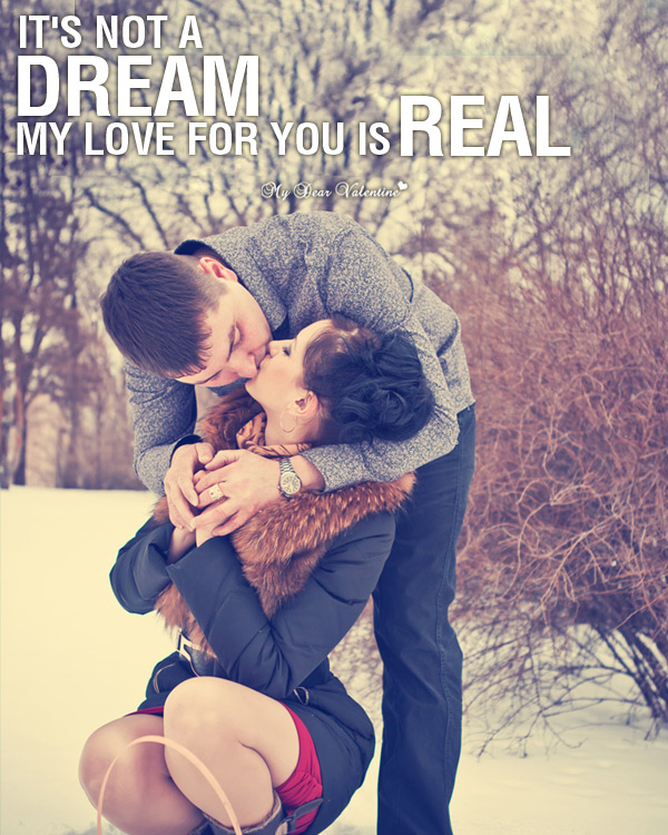 Valentine Picture Quotes - Love is for Real