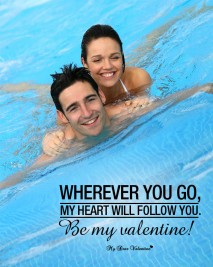 Valentine Picture Quotes - Follow You