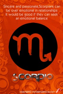 scorpio love horoscope 3