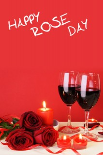 Valentine Picture - Wine and Roses
